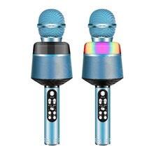 Bluetooth Wireless Microphone Handheld Karaoke Mic USB Mini Home KTV For Music Professiona Speaker Player Singing Recorder Mic