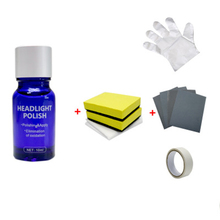 10ml Car Headlight Repair Polish Renovation Set Scratch Remove Oxidation Coating repair the light scratches