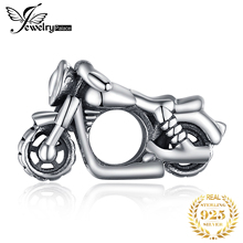 JewelryPalace Motorcycle 925 Sterling Silver Bead Charms Original For Bracelet original Jewelry Making