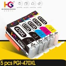 5 шт для canon 470 471 pgi cli Совместимый картридж pixma mg6840