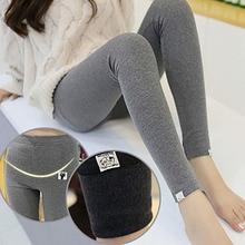 Pregnant-Pants Maternity-Leggings Women for New Stretchy Belly-Lift Thin Slim Cat-Design