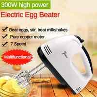 Manual mini 7 velocidade misturador de mão de massa de alimentos-liquidificador handheld multifuncional processador de alimentos ferramenta misturador de cozinha elétrica automática