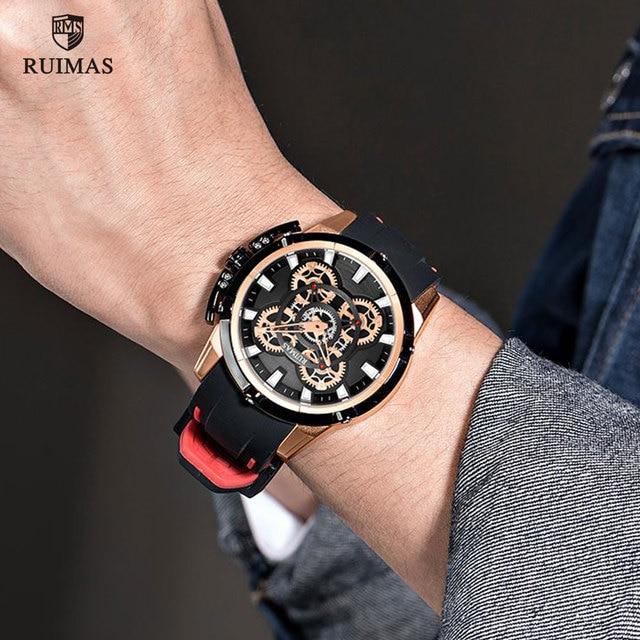 RUIMAS Men Watches Luxury Analogue 547