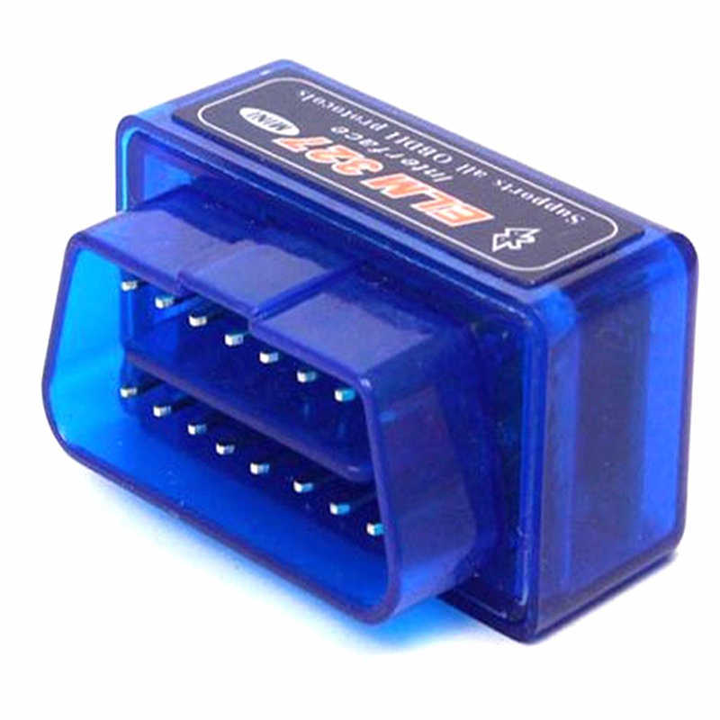 Siêu Mini Elm327 Bluetooth OBD2 V2.1 Xe Ô Tô Tự Động Công Cụ Chẩn Đoán Máy Quét ELM-327 OBDII Giao Thức Adapter CD Driver