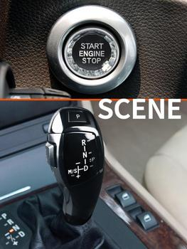 Car Auto LED Shift Knob Gear Handle Crystal Button Car Tuning Accessories for BMW E46 E60 E61 Car Accessories