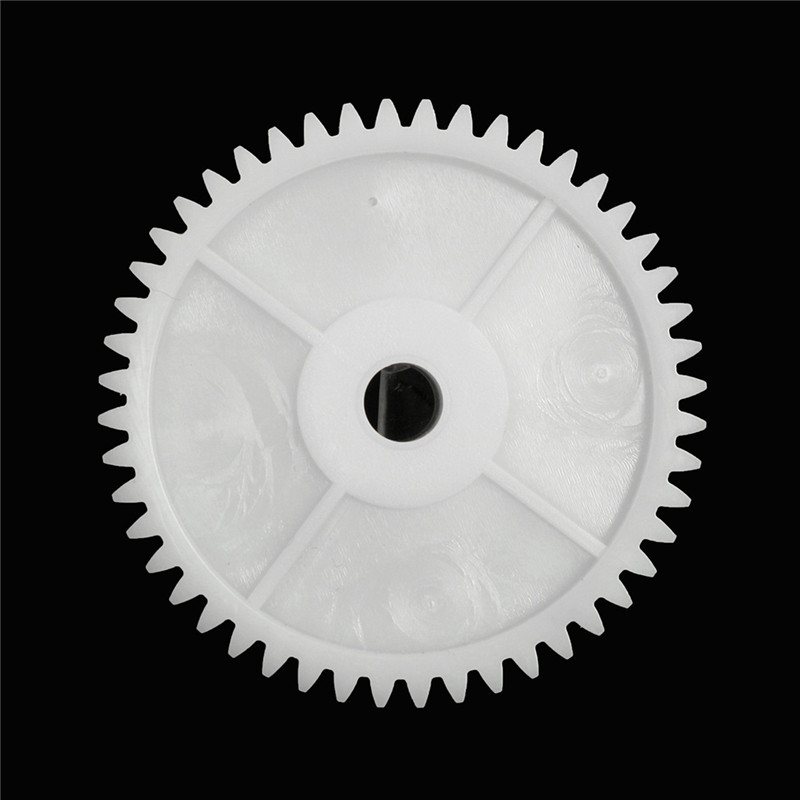 1Pc Plastic White Gear Hole 8mm For 550 Motor Children Car Electric Vehicle Electrical Equipment Supplies Motor Gear Accessorie