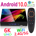 STUOTOP ST1 Smart TV Box Android 10.0 6K 3D Bluetooth Voice Assistant Wifi 2.4G & 5.8G High Performance Set Top Box Media Player