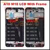 Для Samsung Galaxy A10 A105 A105F SM-A105F ЖК-дисплей экран Digitizer Замена в сборе для Сань Син M10 M105F ЖК-S