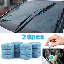 20Pcs/Lot Car Solid Wiper Fine Seminoma Auto Window Cleaning Multifunctional Effervescent tablet Windshield Glass Cleaner