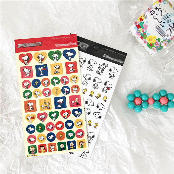 Ins Popular Cute Cartoon Puppy Decorative Stickers Creative Student DIY Notebook Chargers Kawaii Seal Sticker Labels Stationery