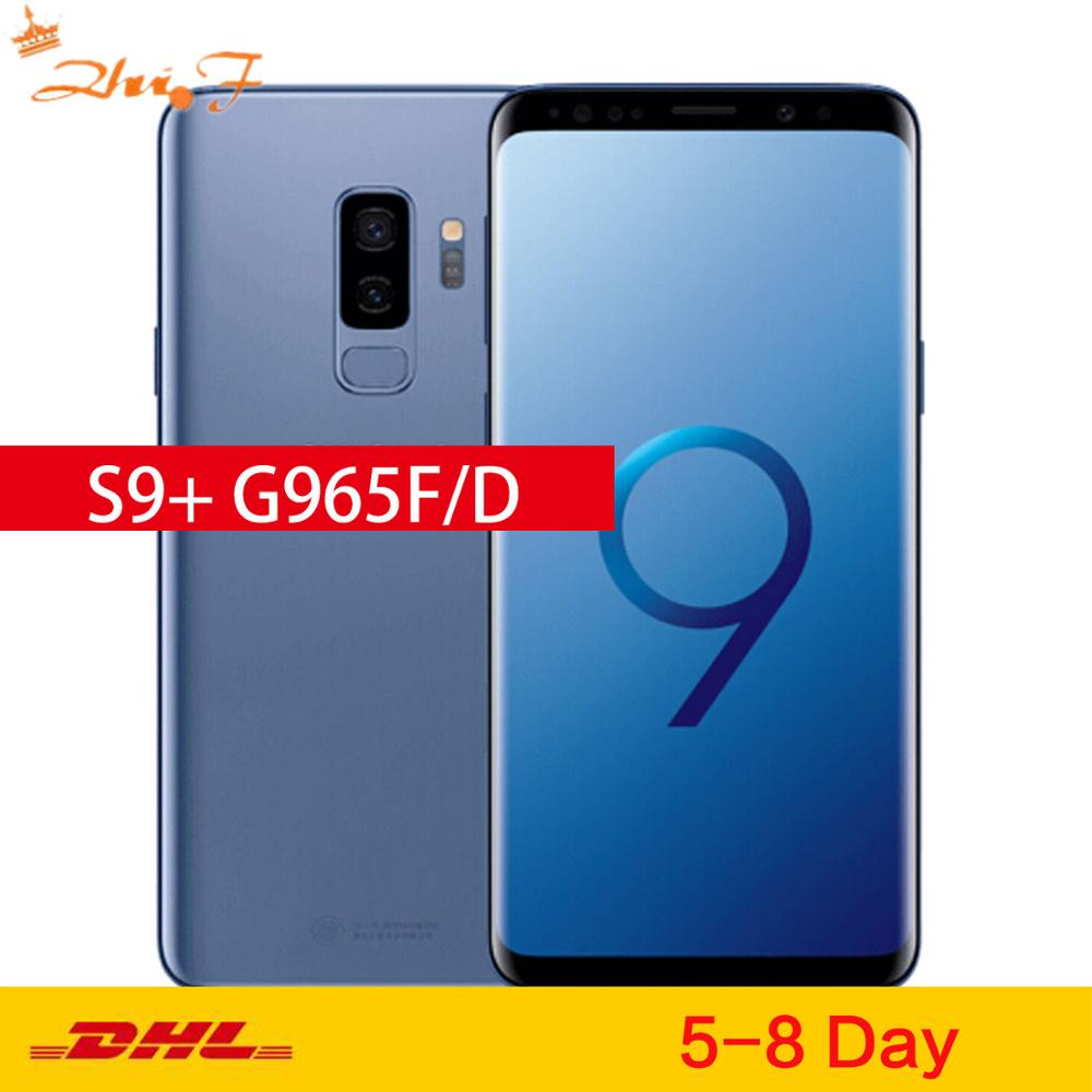 Samsung Galaxy S9 Plus S9+ Duos G965FD 64GB ROM 6GB RAM Dual Sim Original Mobile Phone Octa Core 6.2