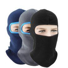 2020 Fleece Winter Warmer Thermische Winddicht Bivakmuts Koude Weer Hoed Helm Liner Volledige Gezicht Caps Mannen Vrouwen Cap Mutsen