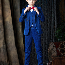 YuanLu 2019 Boys Suits Blazer Coat Formal Costume Wedding Pa