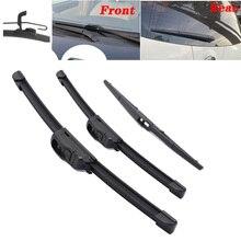 רכב קדמי ואחורי מגבי מגבי מול חלון מגבים להבים עבור מאזדה CX7 CX 7 2006 2007 2008 2009 2010 2013