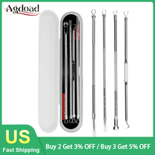 Pimple-Removal-Tool Pore-Cleaner Blackhead-Remover Acne Face Needles AGDOAD Stocks US