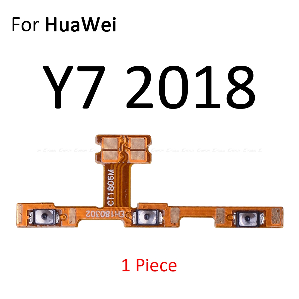 Image 5 - Switch Power ON OFF Key Mute Silent Volume Button Ribbon Flex Cable For HuaWei Y9 Y7 Y6 Pro Y5 Prime GR5 2017 2018 2019 Parts-in Mobile Phone Flex Cables from Cellphones & Telecommunications