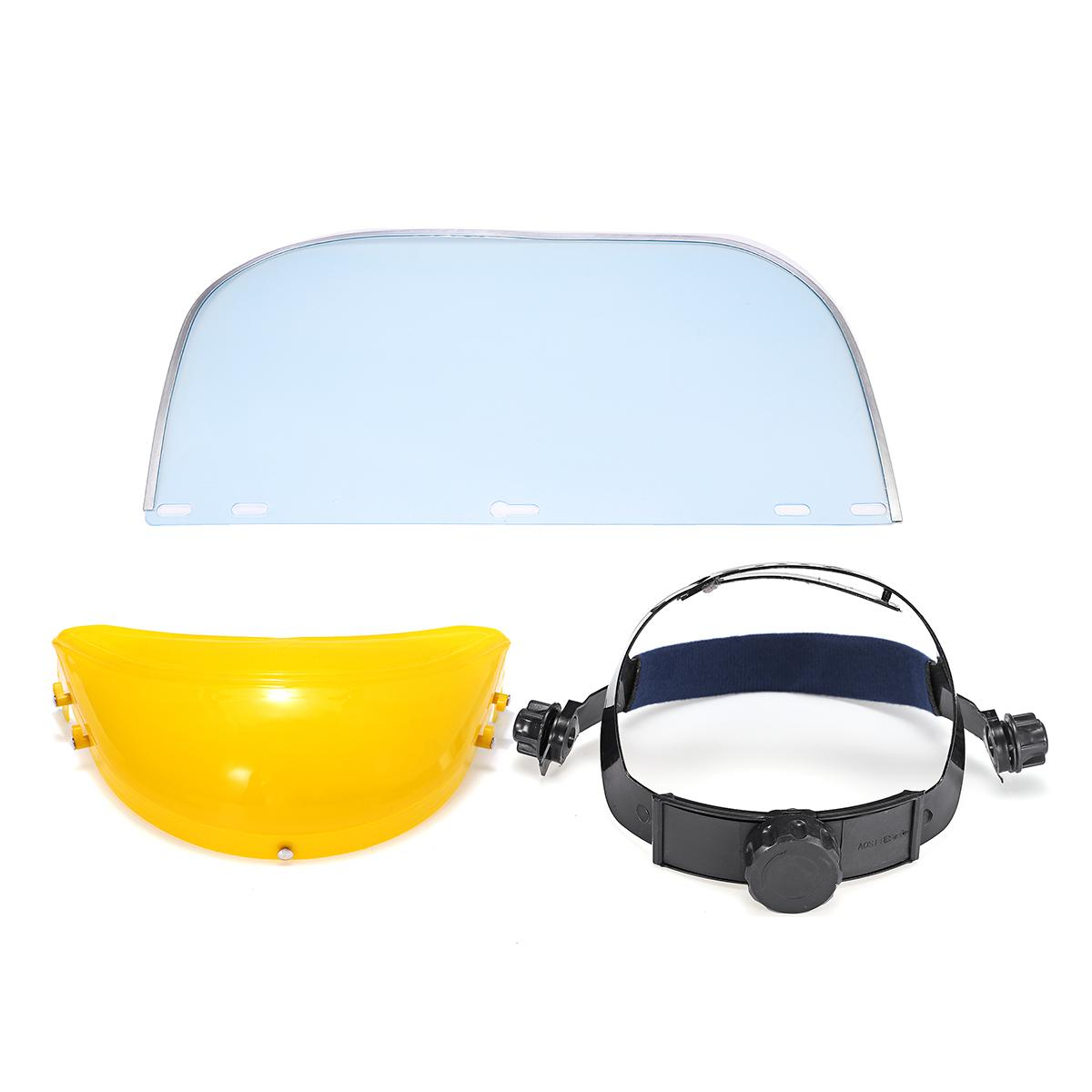 Protective Clear Face Cover and Transparent Face Helmet with Anti Splash Anti-UV and Shield Visor 19