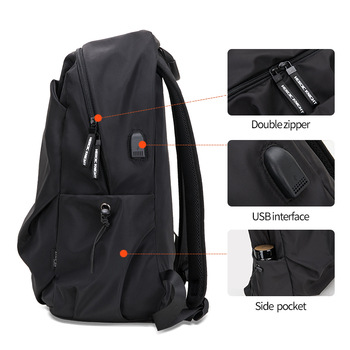 Heroic Knight Men Fashion Backpack 15.6inch Laptop Backpack   5