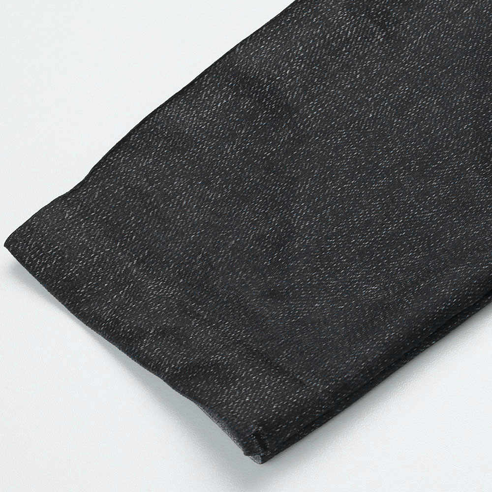 #40 kadın tayt rahat seksi kız tozluk saf siyah Denim pantolon cep tayt spor büyük boyutu tayt kot