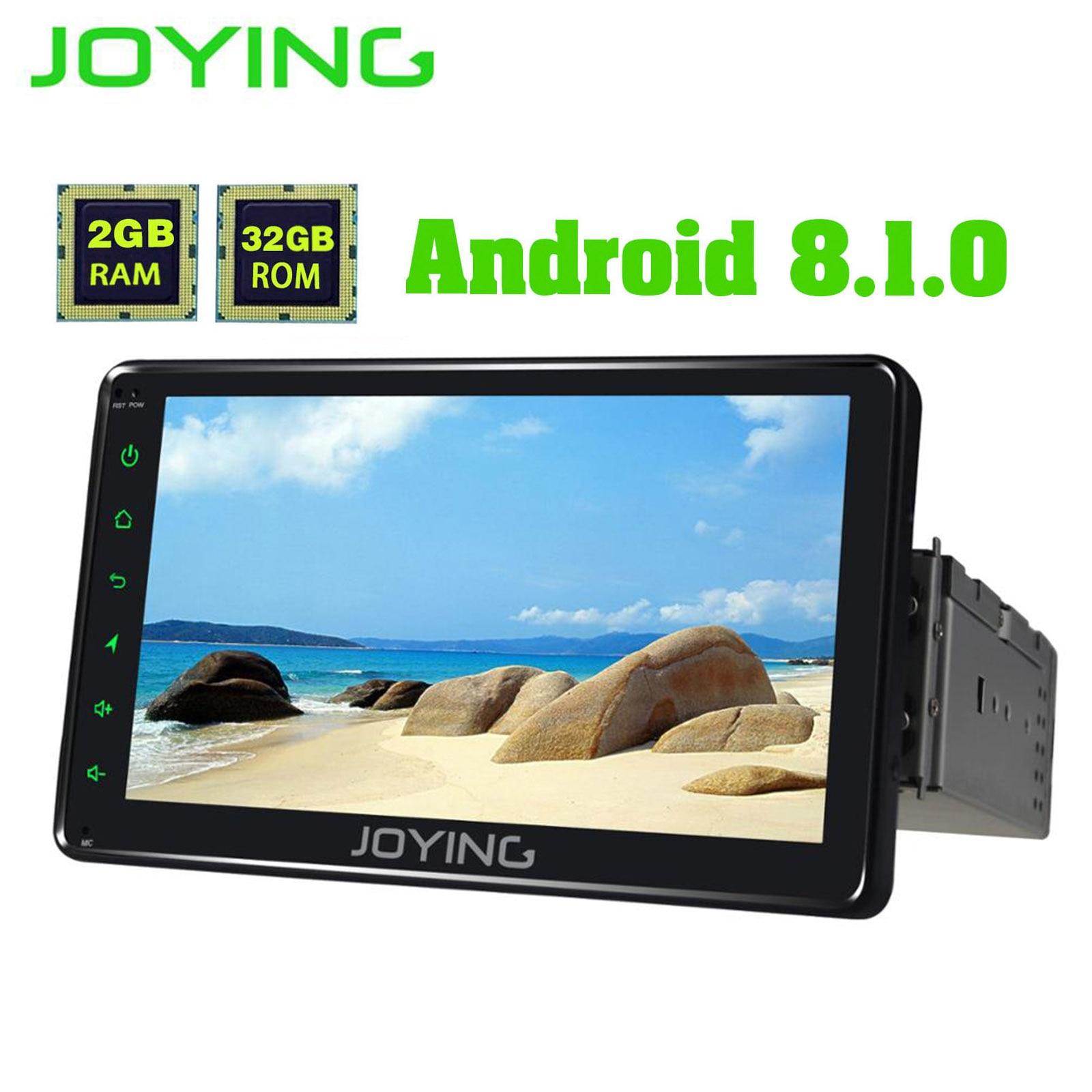 JOYING 2GB RAM Android 8.1 Car Autoradio 1 Single DIN 7'' Head Unit HD Multimedia Stereo Car Radio Player Bluetooth FM WIFI DVR-in Car Multimedia Player from Automobiles & Motorcycles    2