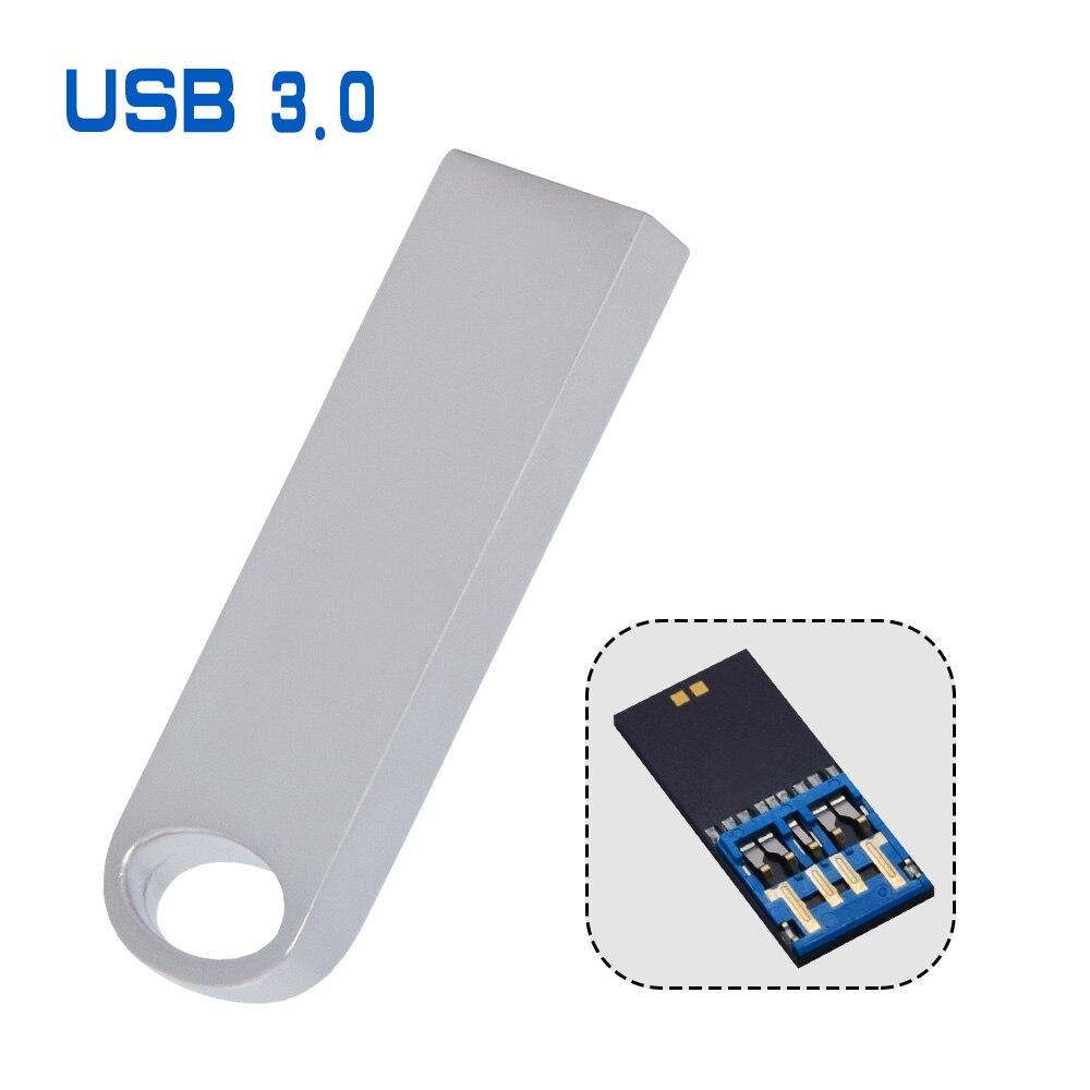 Metal Pendrive USB High-Speed Memory-Stick Wedding-Gift Free-Logo 16GB 8GB Over 10pcs