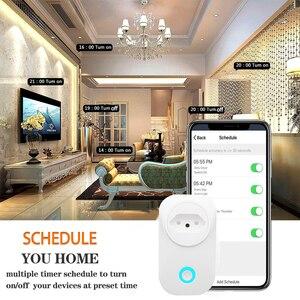 Image 5 - Смарт розетка бразильская с поддержкой Wi Fi и голосовым управлением