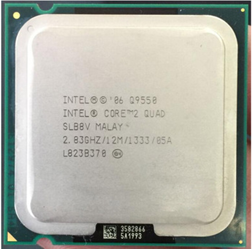 Intel Core 2 Quad Q9550 2,8 GHz Quad-Core CPU procesador de 12M 95W LGA 775 CPU