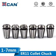 XCAN 1 قطعة ER11 كوليت تشاك 1/2/2.5/3/3.5/4/4.5/5/6/7 مللي متر نك راوتر الربيع تشاك ل نك النقش آلة و طحن مخرطة