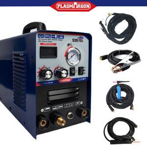 Plasma cutter welder machine welding 3 functions 520TSC TIG/MMA/cut 110/220V 50A 3 in