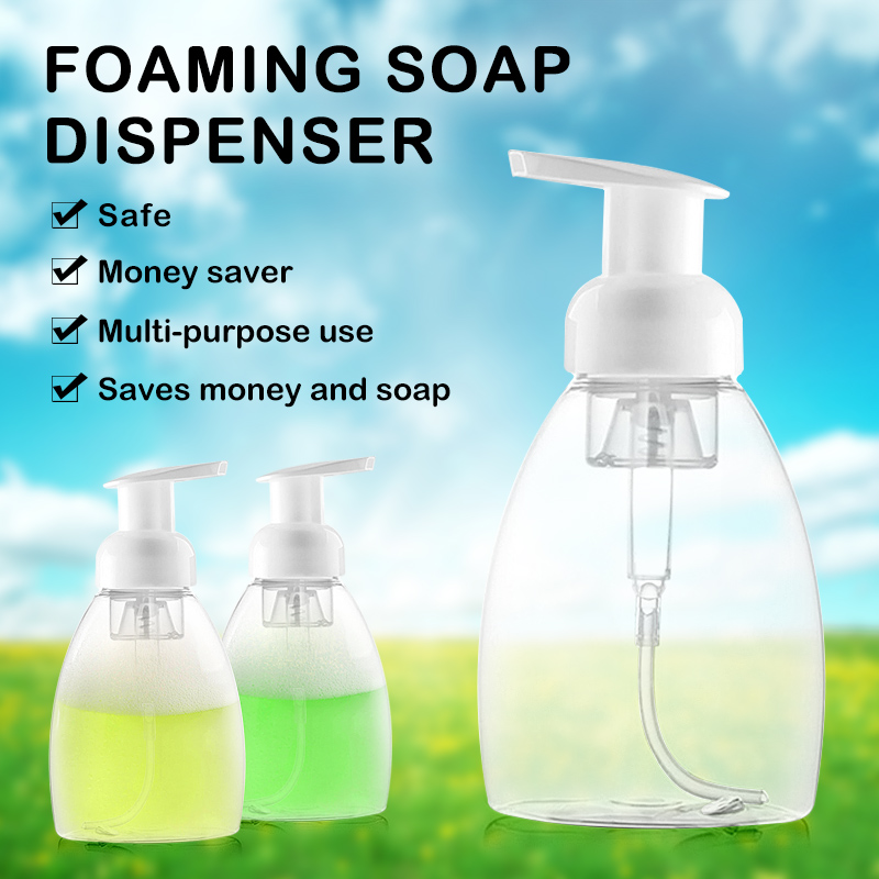 30ml/300ml Clear Foam Pump Bottle Spray Bottles Soap Foaming Mousses Liquid Dispensers Household For Children's Health Bottles