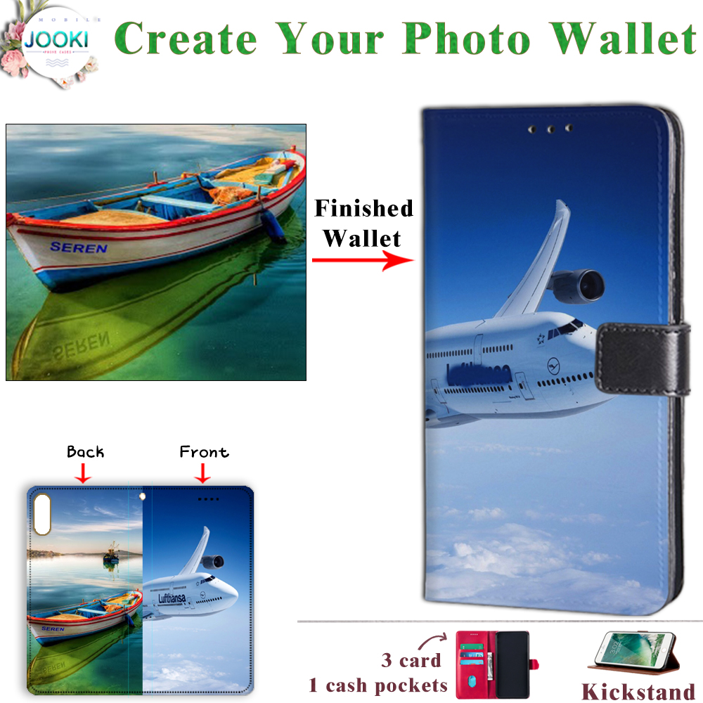 A photo captures a moment that is gone forever with Your phone Leather Photo Wallet For Samsung Galaxy S8+ S8plus Case image