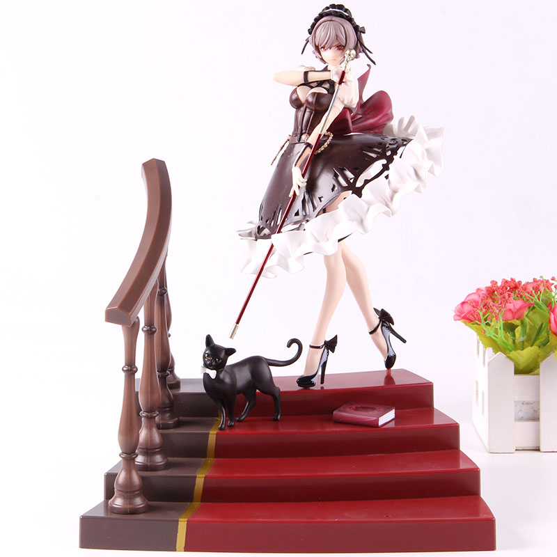 Poupée de jeu de jouet chaude avec escalier luxueux chat Julies figurine d'action jeu chaud Julies jouet de collection modèle