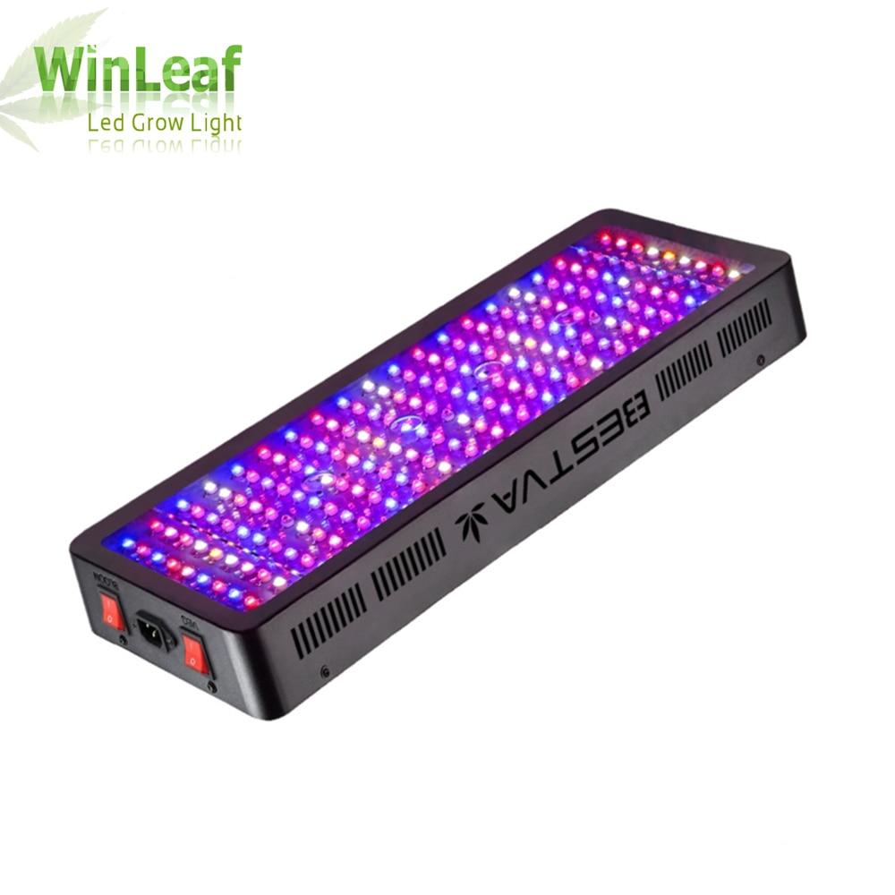 Bestva led crescer espectro completo de luz 1200 w 1500 w 1800 2000 w duplo chip vermelho/azul/uv/ir para plantas de interior