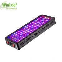 Luz de crecimiento LED BESTVA espectro completo 1200W 1500W 1800W 2000W doble Chip rojo/azul/UV/IR para plantas de interior VEG BLOOM