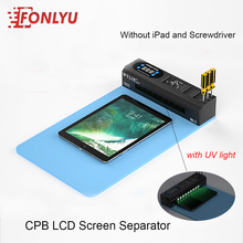 CPB LCD Screen Separator With Dust Detection Lamp LCD Heating Separation Tool Heating Platform for Phone iPad