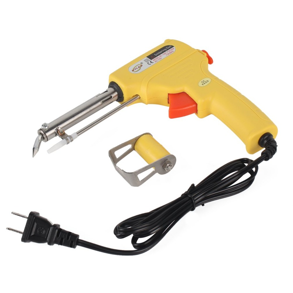 110-240V 60W  Automatic Send Tin Gun Electric Soldering Iron Rework Station Desoldering Pump Welding Tool Solder Wire Pakistan
