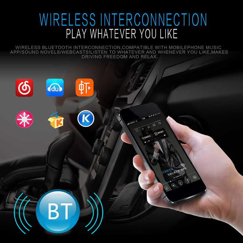 新車マルチメディアプレーヤー bluetooth autoradio MP3 音楽プレーヤーカーステレオラジオ fm aux 入力レシーバ usb 12 v-ダッシュ 1 din