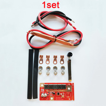 1 stylo portatif de soudeuse de tache de stockage dénergie de batterie de la carte 12V de soudure de carte PCB de bricolage pour 18650/26650/32650 pièces de soudure de tache