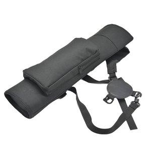 Image 3 - 1 шт., рюкзак для стрельбы из лука, колчан, сумка через плечо, чехол со стрелкой, держатель, 40 стрел, изогнутый лук, принадлежности для охоты, стрельбы