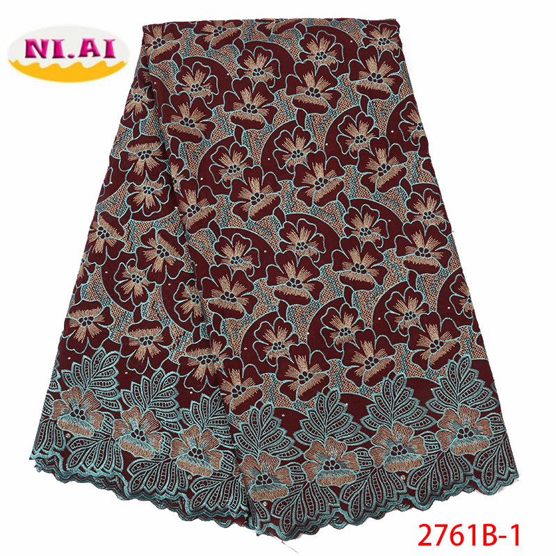 Latest Swiss Lace Fabric Dress African French Voile Lace In Switzerland 2019 High Quality Nigerian Cotton