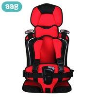 Aag 0-12y segurança assento da cadeira do bebê ajustável criança jantar cadeiras almofada do assento esteira crianças carrinho de bebê assentos cadeira transportadora