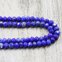 High Quality Natural Stone Lapis Lazuli Round Beads Fashion Top Section Lazurite Gem For Making Design 2mm 3mm Bracelet Jewelry