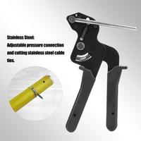 Cable Tie Tool Stainless Steel Fastening Cable Tie Tensioner Cutter Band Binding Tool Stainless Steel Cable Tie Gun Strapping T