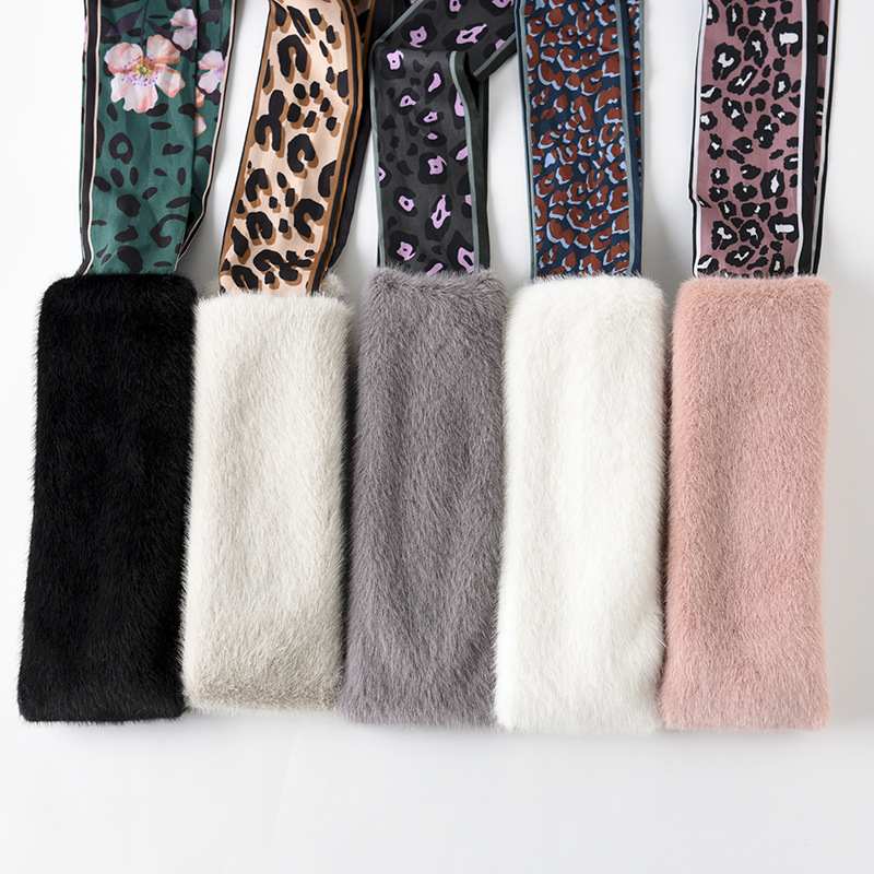 Korean-style New Arrival Versatile Students Girl'S Warm Winter Dongdaemun Scarf Scarf Flexible Magic Winter Scarf