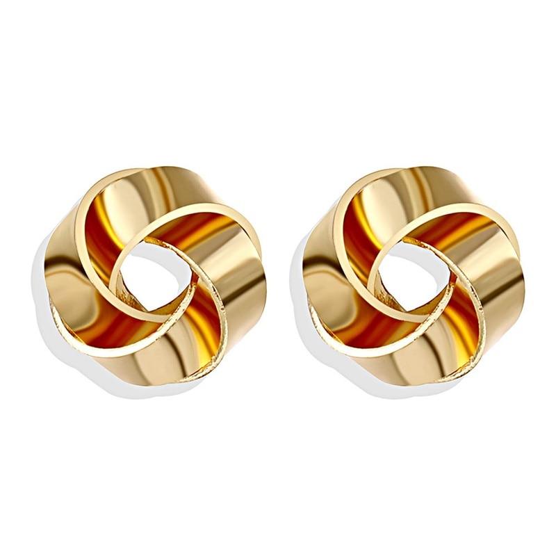 IPARAM, новинка, большие круглые серьги-кольца для женщин, модные, массивные, золотой, в стиле панк, очаровательные серьги, вечерние ювелирные изделия - Окраска металла: IPA0101-8