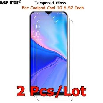 Перейти на Алиэкспресс и купить 2 шт./лот для Coolpad Cool 10 Cool10 6,52 дюймзакаленное стекло Защита экрана Ультра тонкая Взрывозащищенная защитная пленка