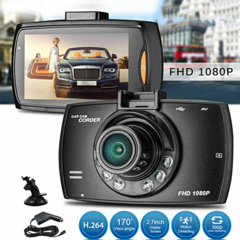 HD 2.2inch LCD 1080P Car DVR Vehicle Camera Video Recorder Night Vision Dash Cam PUO88 - discount item  24% OFF Camera & Photo