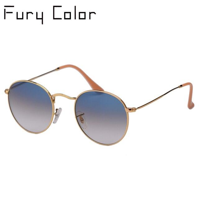 เลนส์ Real UV400 Retro รอบดวงอาทิตย์แว่นตาแว่นตากันแดดผู้ชายผู้หญิง Luxury designer แบรนด์ผู้หญิง oculos de SOL 3447