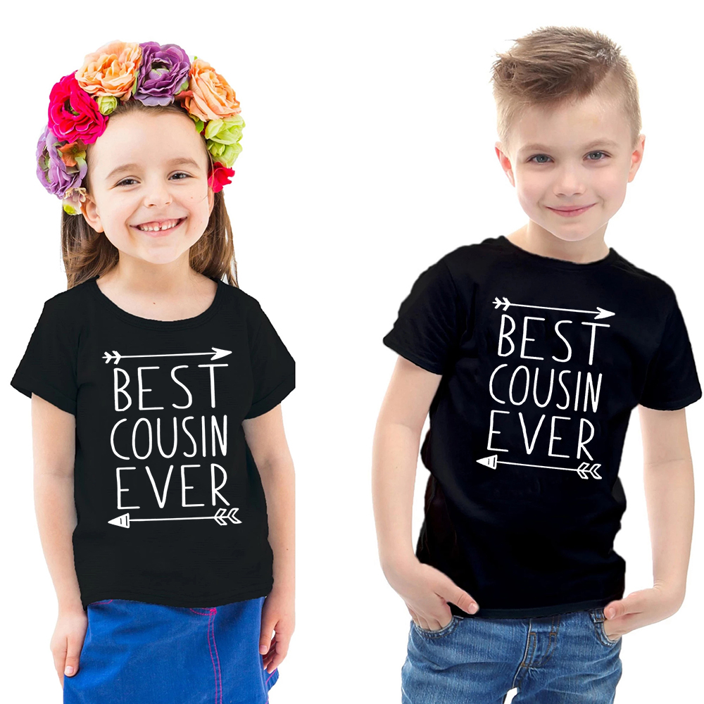 New to The Cousin Crew Unisex Childrens Short Sleeve T-Shirt Kids Or Little Boys and Girls