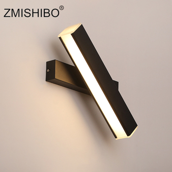 ZMISHIBO Rotatable Wall Lamp 5W 10W 15W 110-240V 3000K 6000K Wall Sconce Decoration Study Bedroom Night Light Fixtures